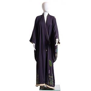SILK KIMONO 1920/1930 Purple silk kimono, ...