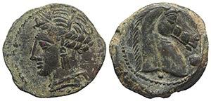 Carthaginian Domain, Sardinia, c. 264-241 ...