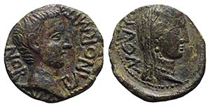 Tiberius with Julia Augusta (Livia, 14-37). ...