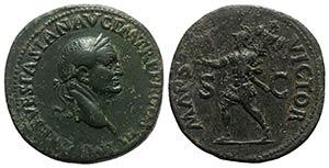 Vespasian (69-79). Æ Sestertius (33.5mm, ...
