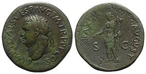 Titus (79-81). Æ Sestertius (34mm, 30.15g, ...