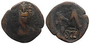 Heraclius (610-641). Æ 40 Nummi (34mm, ...