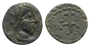Vandals, c. 5th century AD. Æ (8mm, 0.67g). ...