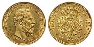 Germany, Prussia. Friedrich III (1888). AV ...