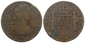 Mexico, Carlos III (1759-1788). Plated 8 ...