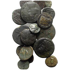 Lot of 20 Greek Æ coins, to be catalog. Lot ...