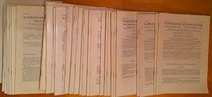 AA.VV. Schweizer Münzblätter. Gazette ...