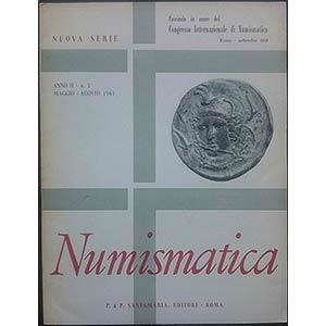 AA.VV. Numismatica. Rivista. Nuova serie, ...