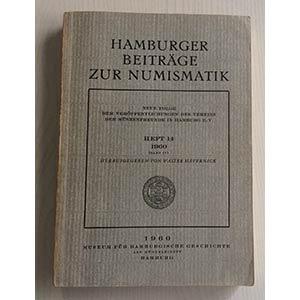 AA.VV. Hamburger Beitrage zur Numismatik. ...