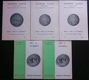 Ars et Nummus - Giuseppe Nascia. Lotto di 4 ...
