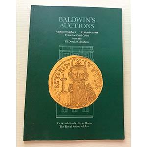 Baldwins Auction 5 Byzantine Gold Coins ...