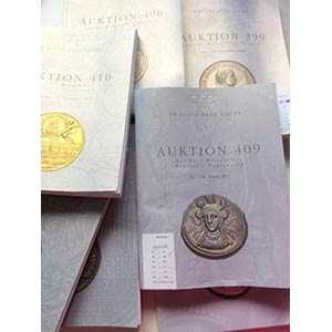Busso Lotto di 7 Cataloghi : Auktion 399, ...
