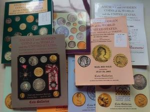 Coin Galleries Lotto di 10 Cataloghi -  21 ...