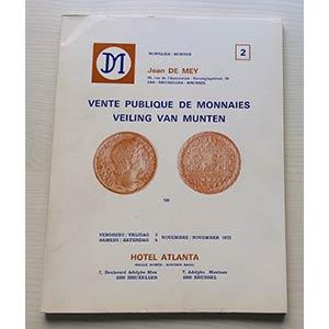 De Mey J. Auction 2 Importante Vente de ...