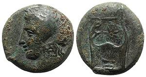 Sicily, Adranon, c. 340-330 BC. Æ Litra ...