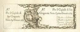 CARTAMONETA - SARDO-PIEMONTESE - ...