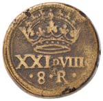 PESI MONETALI ESTERI - SPAGNA - Filippo IV ...