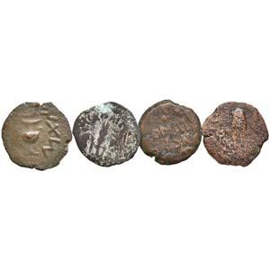 LOTTI - Greche  Lotto di 4 prutah