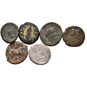 LOTTI - Greche  Lotto di 6 monete