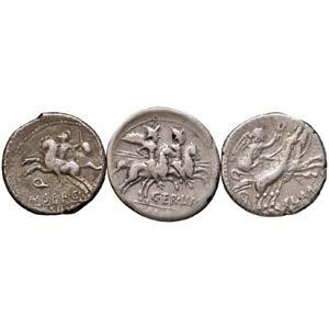 LOTTI - Repubblicane  Lotto di 3 monete