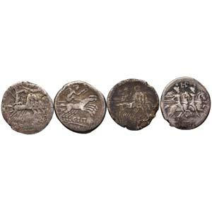 LOTTI - Repubblicane  Lotto di 4 monete