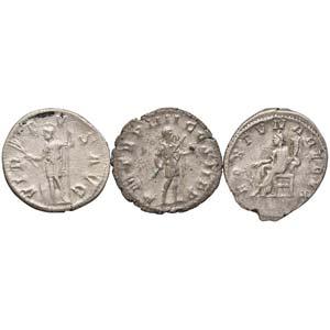 LOTTI - Imperiali  Lotto di 3 antoniniani di ...