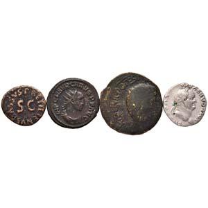 LOTTI - Imperiali  Denario di Vespasiano, ...