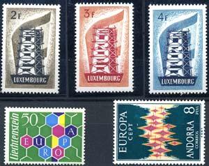 EUROPA - C.E.P.T.  - Collezioni 1956/1981 ...