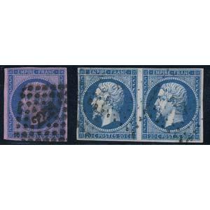 EUROPA - FRANCIA  - Posta Ordinaria 1853 - ...