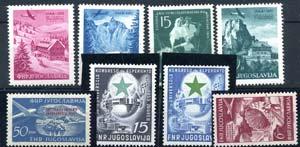 EUROPA - JUGOSLAVIA  - Posta Aerea 1951-1953 ...