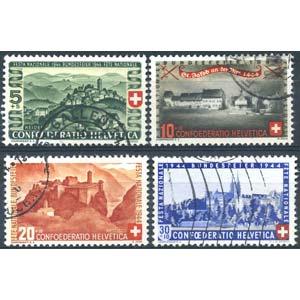 EUROPA - SVIZZERA  - Collezioni 1909-1981 ...