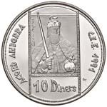 ESTERE - ANDORRA  - 10 Diners 1991 - CEE Kr. ...