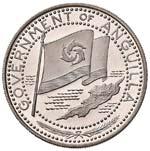 ESTERE - ANGUILLA  - 2 Dollari 1969 Kr. 17  ...