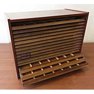 ACCESSORI  Monetiere in legno con 15 ...