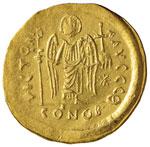 BIZANTINE - Giustiniano I (527-565) - Solido ...
