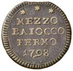 ZECCHE ITALIANE - FERMO - Pio VI (1775-1799) ...