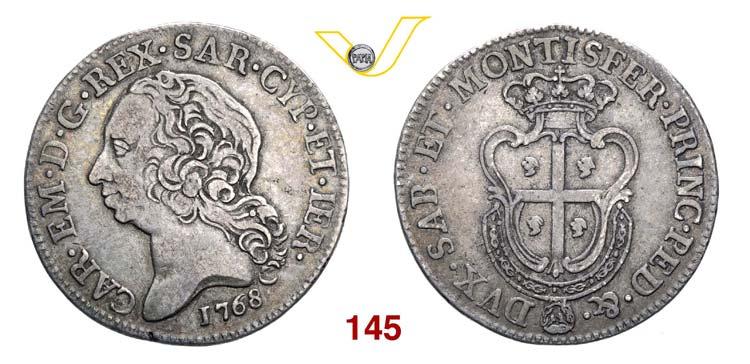 CARLO EMANUELE III - monetazione ...