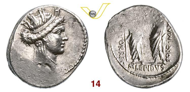 AEMILIA - M. Aemilius Lepidus  (61 ...