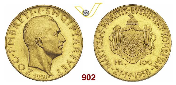 ALBANIA  ZOG I  (1925-1939)  100 ...