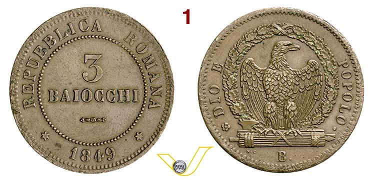 BOLOGNA - II REPUBBLICA ROMANA  ...