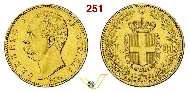 UMBERTO I  (1878-1900)  100 Lire ...