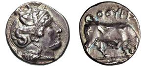 LUCANIA - THURIUM      (425-400 a.C.)  ...