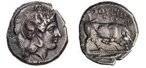 LUCANIA - THURIUM      (400-350 a.C.)  ...