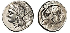 LUCANIA - VELIA      (350-300 a.C.)  ...