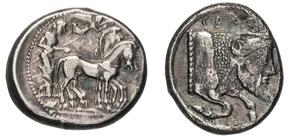 SICILIA - GELA      (480-470 a.C.)  ...