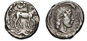 SICILIA - SYRACUSAE      (460-450 a.C.)  ...