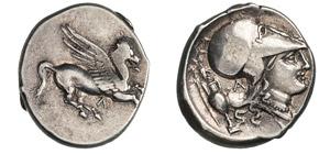 ACARNANIA - LEUCAS    (400-330 a.C.)  ...