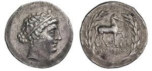 AEOLIA - KYME    (165-140 a.C.)  ...