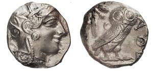 ATTICA - ATHENS    (449-413 a.C.)  ...