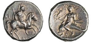CALABRIA - TARENTUM      (340-325 a.C.)  ...
